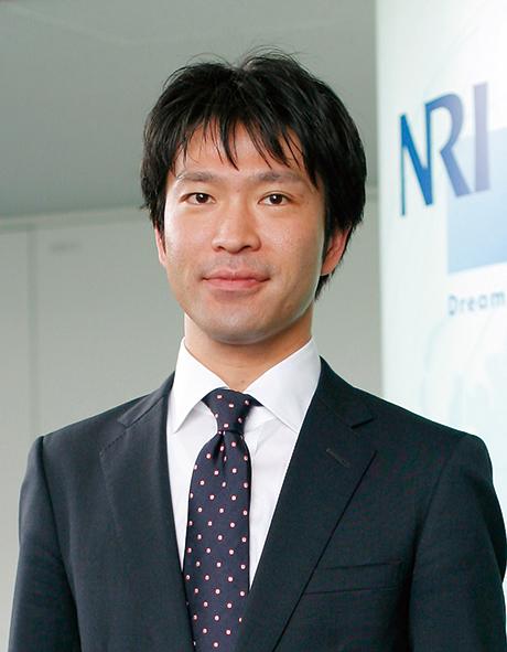 株式会社野村総合研究所 経営革新コンサルティング部 主任コンサルタント 猪鼻 聡