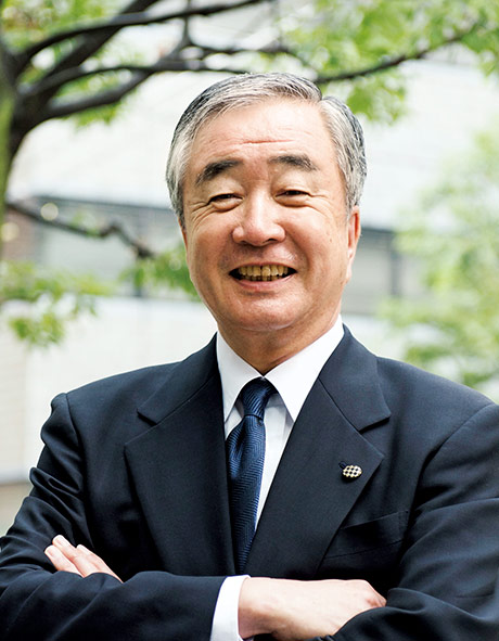 日本公認会計士協会 前会長(現相談役) 山崎 彰三