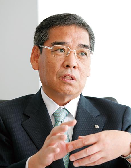 花王株式会社 会計財務部門 取締役 執行役員 三田 慎一氏