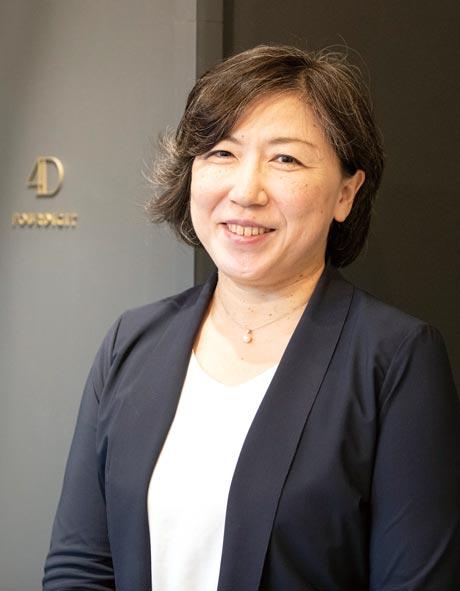 株式会社フォーデジット 取締役CFO 冨來 美穂子
